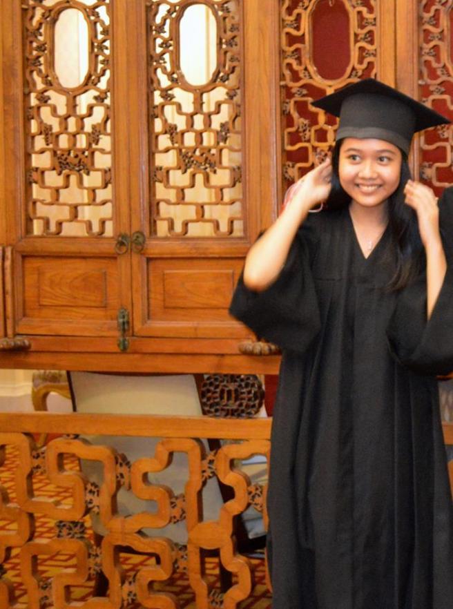 高校卒業式2014年